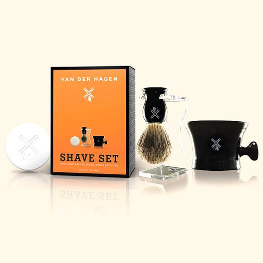 Van Der Hagen Men's Luxury, Shave Set