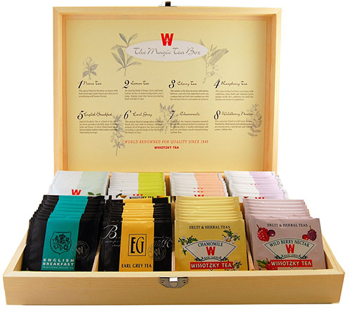 WISSOTZKY Magic Tea Box