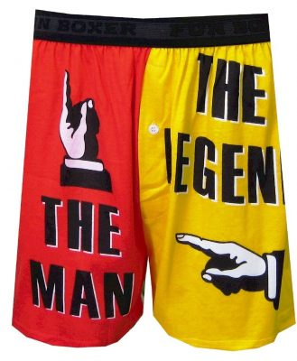 The Man The Legend Boxer Shorts for men