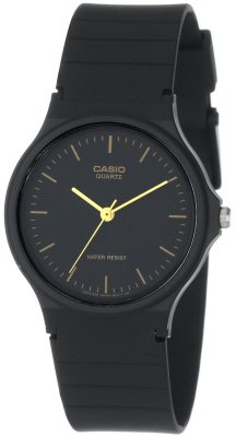 Casio Mens MQ24 1E Black Resin Watch