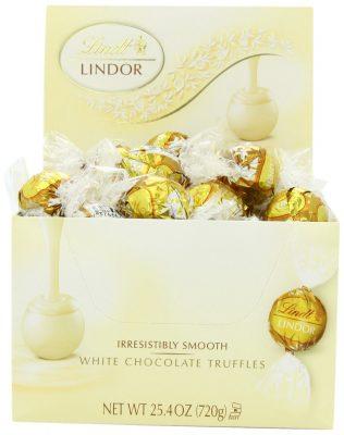 Lindt Lindor Truffles White Chocolate