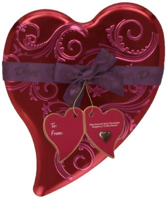 Dove Valentine's Truffle Hearts - Valentines Day Gifts for Mom