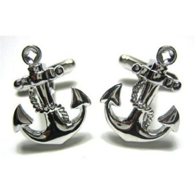 Boat Anchor Cufflinks with Gift Box