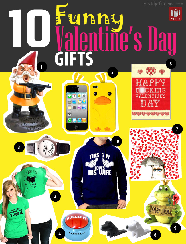 10 Funny Valentine's Day Gifts - Funny Valentines Day Gifts