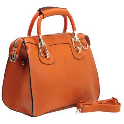 MG Collection MARISSA Doctor Style Handbag