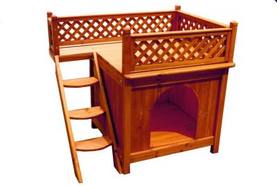 Merry Pet MPS002 Wood Room with a View Pet House