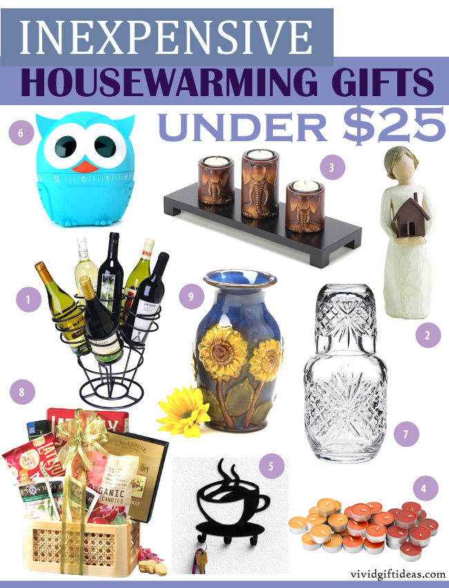Inexpensive Housewarming Gifts Under 25 Vivid 39 S
