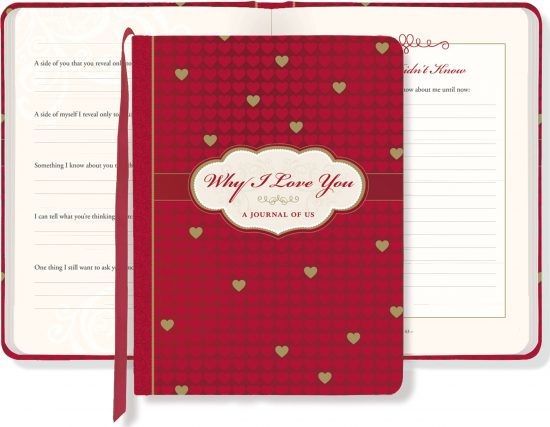 Why I Love You: A Journal of Us (What I Love About You Journal) Hardcover