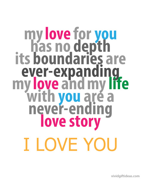 Love Quote 4 - Love You Quotes for Him