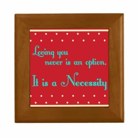 Vintage Love Quotes Decorative Tile