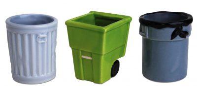 Get Trashed Trash Can Shot Glasses, Assorted Set