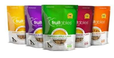 Fruitables Pumpkin Dog Treats (Variety Pack of 5)