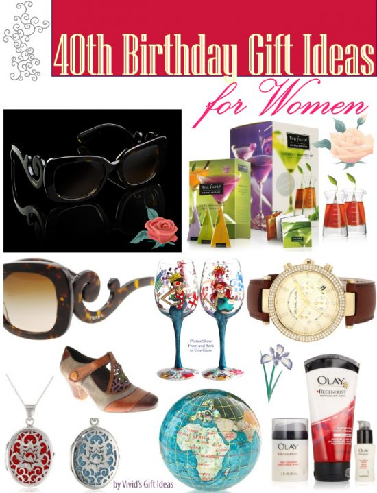 40th Birthday Gift Ideas For Girls