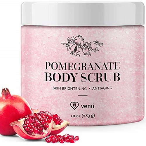 Pomegranate Salt Body Scrub