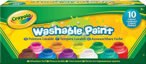Crayola Washable Kids Paint set of 10 Bottles