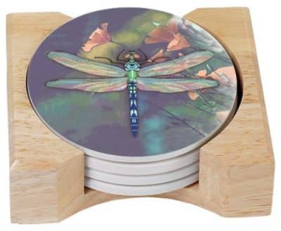 Dragonfly Coffee Coasters