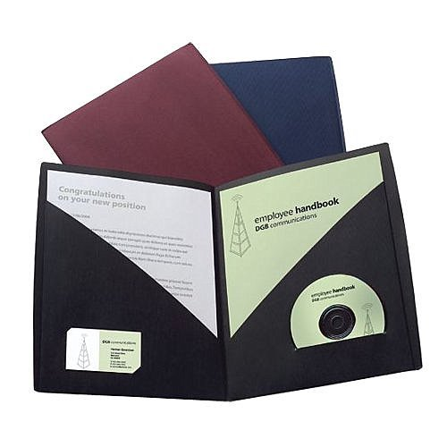 GBC Designer Two Pocket Folders - Back to School Teacher Gifts