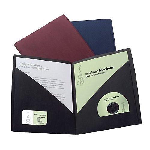 GBC Designer Two Pocket Folders - Back to School Teacher Gifts