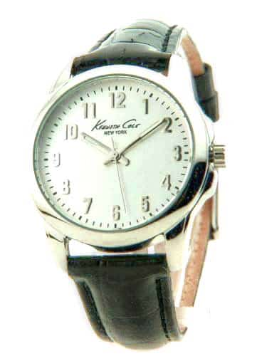 Kenneth Cole New York Croco Leather Silver Dial Women's watch