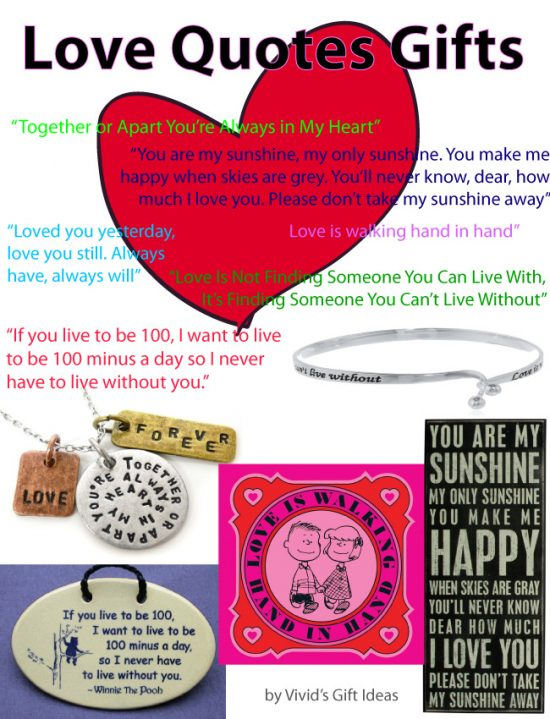 Love Quotes Gift