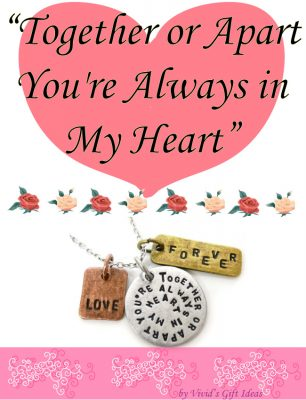 Love Quotes Pendant