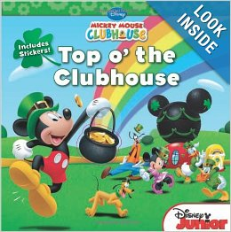 Mickey Mouse Clubhouse Top o' the Clubhouse with Stickers