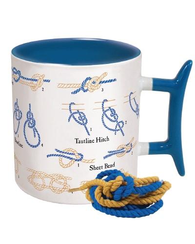 Nautical Knots Coffee Mug | Nautical Gifts