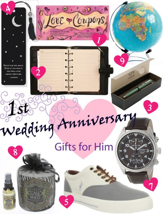 Paper Anniversary Gift Ideas for Him