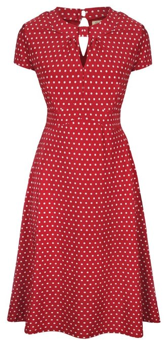 Polka Dots Vintage Dress