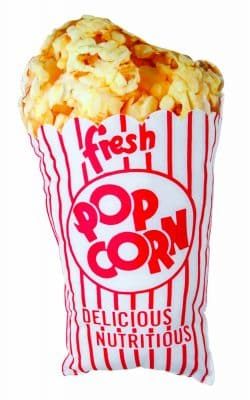 Retro Popcorn Pillow