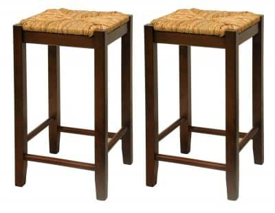 Rust beach bar stool