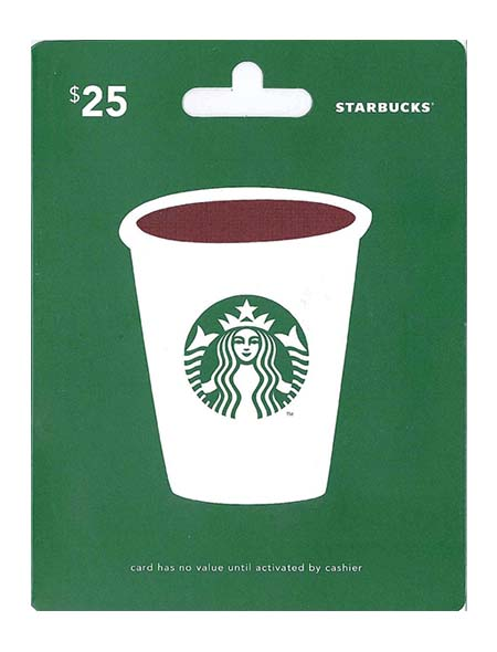 Starbucks Gift Card - Coach Gifts