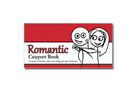 The Romantic Coupon Book - Gifts for Boyfriend Just Because