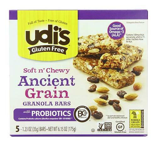 Udi's Gluten Free Granola Bars