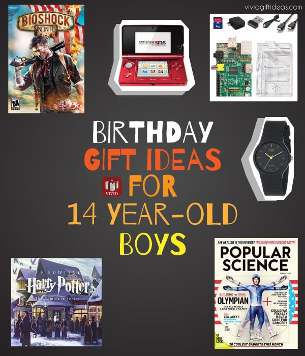 Birthday Gift Ideas For 14 Year Old Boy