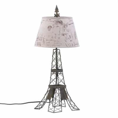 French Eiffel Tower Table Lamp