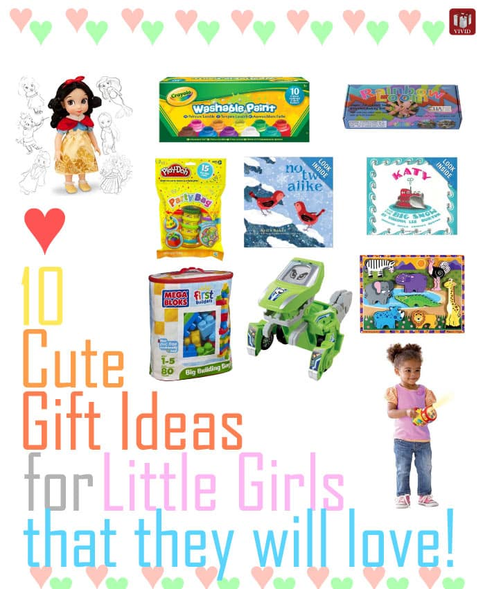Cute Gift Ideas for Little Girls that They Will Love