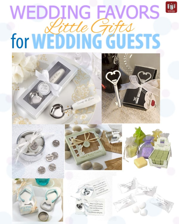 Wedding Favors Ideas For Guests : Little Gifts for Wedding Guests Wedding Favors - Vivids