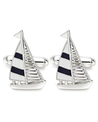Sail Boat Cufflinks | Nautical Gifts