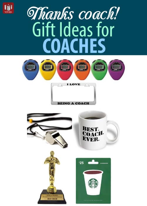 Thank You Coach Gifts | Gift Ideas for Coaches