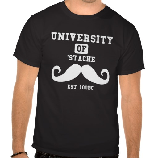 'Stache T Shirt - Gifts for Boyfriend Just Because
