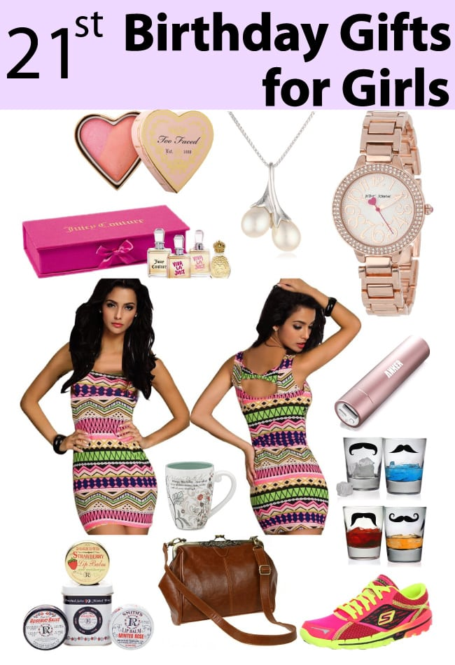 21 Birthday Gift Ideas For Girls