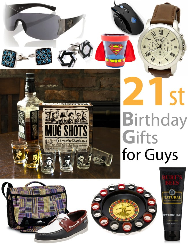 21st Birthday Gifts For Guys