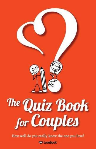 The Quiz Book for Couples (Paper Anniversary Gift for Him)