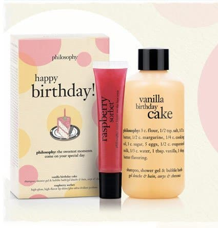 Philosophy Happy Birthday Skincare Gift Set | Birthday Gift Ideas For Teen Girls
