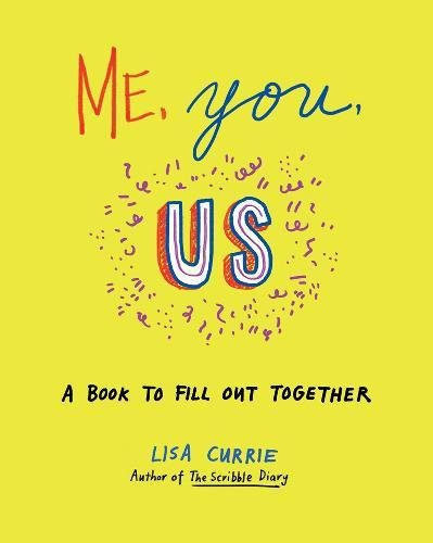 Me, You, Us: A Book to Fill Out Together. First wedding anniversary paper gift ideas