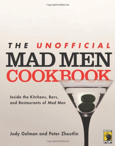 The Unofficial Mad Men Cookbook. Paper Anniversary Gift for Him.
