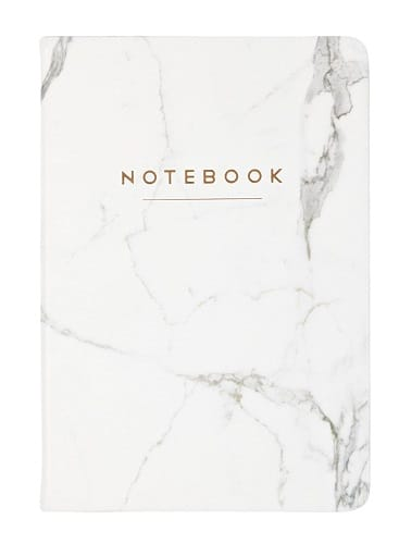 Marble Notebook (Paper Anniversary Gift for Him)