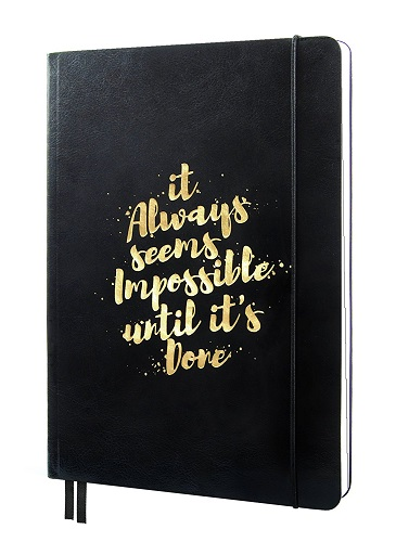 Inspirational Planner - Paper Anniversary Gift Ideas for Her