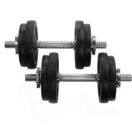 Adjustable Cast Iron Dumbbells